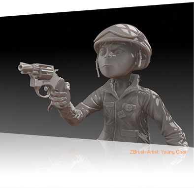 ZBrush Artist: Young Choi