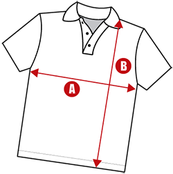 Simple-Polo-shirt-size-Guide-S